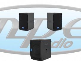 Impianto audio di Elevata Qualità composto da 2 GO-8A + 1 GOS-12A + 2 M530-5metri mod: KIT-S3