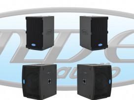 Impianto audio composto da 2 GO-10A + 2 GOS-12A + 2 M530-3 metri mod: KIT-M4