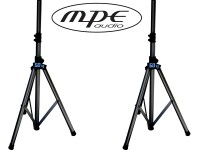 Coppia supporti in alluminio universali per casse acustiche mod: MAS50E