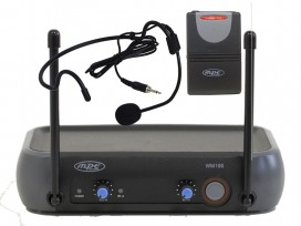 Radiomicrofono wireless microfono archetto professionale Sport Fitness Spinning mod: WM100AS