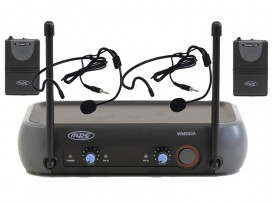 Radiomicrofono wireless doppio microfono archetto professionale Sport Fitness Spinning mod: WM900AS