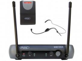 Radiomicrofono wireless ad archetto con effetto ECHO icorporato mod: WM100A