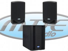 Impianto audio composto da 2 PX-12A + 1 GOS-600 + 2 M530-5 metri mod: KIT-M2