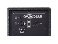 "Coppia casse attive professionali amplificate 640 watt woofer 2 x 5"" 122 db spl max mod. MPE GO-80"