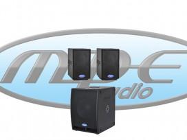 Impianto audio 2040 WATT composto da 2 GO-80 + 1 GOS-12A mod: KIT-S1 COMPACT