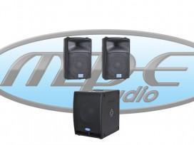 Impianto audio 2400 WATT composto da 2 DJ-10AL + 1 GOS-12A + 2 M530-5 metri mod: KIT-S2