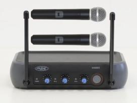 Radiomicrofono doppio wireless vhf gelato con due canali separati ed effetto echo mod: WM900ECHO