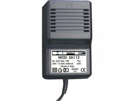 Alimentatore analogico AC/DC professionale 12v 500mA mod: SA112