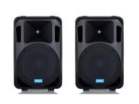 Coppia casse bi amplificate attive 1900 watt musicali mod: set base DJ-15AL