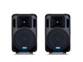 Coppia casse bi amplificate attive 1800 watt musicali mod: set base DJ-12AL