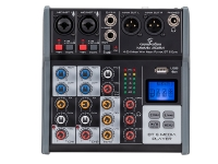 Mixer passivo4-Canali con Media Player Mp3, BlueTooth ed Effetto Eco Digitale