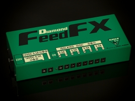 Alimentatore digitale / analogico professionale 9 12 18 v per pedali effetto mod: FEEDFX DIAMOND