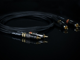 MPE AUDIO HS112 Hi-End 2 Cavi - (Coppia) Cavo Hi-Fi Audio Stereo RCA di segnale puro rame OFC