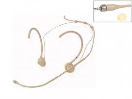 Microfono ad archetto professionale color carne per radiomicrofoni connettore stereo compatibile Sennheiser mod: HD12CS