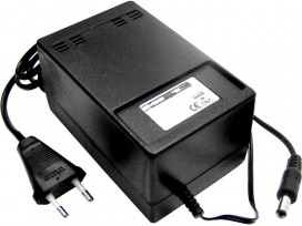 Alimentatore analogico AC/DC professionale 9V 3A mod: SA609