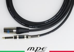 Cavo di collegamento tra mixer e casse attive con 1 XLR maschio e 1 jack mono 6,3mm mod: M510