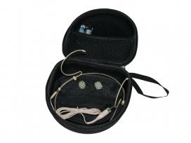 Custodia borsa per microfono ad archetto e cuffie