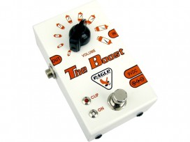 Boost analogico true bypass mod: THE BOOST