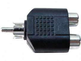 Adattatore da spina RCA a doppia presa RCA mod: JA40