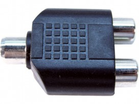 Adattatore da presa RCA a doppia presa RCA mod: JA45