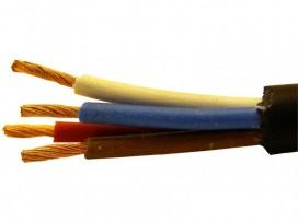 Cavo professionale di potenza mpe a quattro conduttori mod: XA154