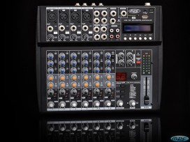 Mixer passivo professionale mpe 8 canali con effetti dsp + usb + SD Card + mp3 player mod: 8FXUSB