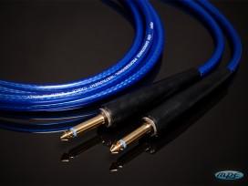 Cavo professionale per strumenti assemblato con 2 jack mono D. 6,3 mm mod: PL600TD
