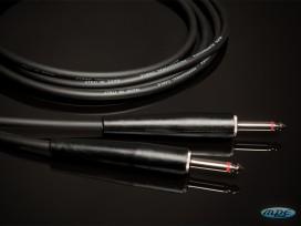 Cavo professionale per strumenti assemblato con 2 jack mono D. 6,3mm mod: PL600