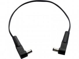 Cavo DC per pedali effetto assemblato con 2 connettori ad angolo 90° da 5,5 x 2,1 x 9,5 mm mod: FX400