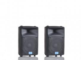 Coppia casse Attive bi amplificate 800 watt musicali mod: Set base DJ-8AL