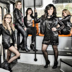 Les paillettes girl band